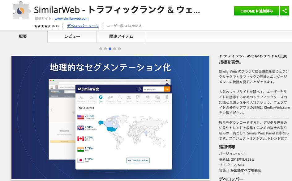 【無料】競合サイトのアクセス数や流入キーワードを比較するSimilarWebを活用しよう